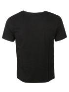 Saint Laurent Logo Print T-shirt - BLACK-GOLD