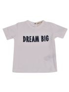 Babe & Tess Dream Big Short Sleeve T-shirt - White