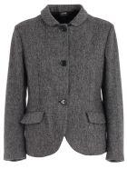 Aspesi Jacket Short Shetland - Nero
