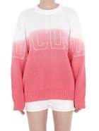 GCDS Logo Sweater - Pink
