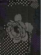 Franco Ferrari Floral Pattern Scarf - Fantasy black
