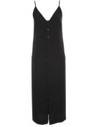 Maison Margiela Dress W/s Satin Crepe - Black