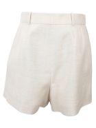 Stella McCartney High Waist Shorts - Linen