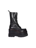 R13 Platform Boots - Black