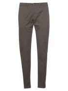Jeckerson Chevron Trousers - Marrone Cedar