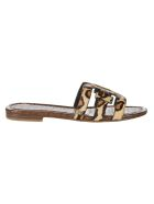 Sam Edelman Bay Leopad Flat Shoes - Multicolor