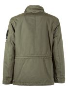 Stone Island Zipped Military Jacket - Grey