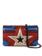 Stella McCartney Star Multicoloured Faux Leather Shoulder Bag - Multicolor