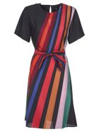 Paul Smith Multicolor Lined Dress - Black