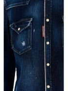 Dsquared2 'western' Shirt - Blue