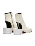 Barracuda Ankle Boot - BIANCO