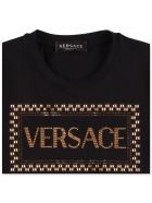 Young Versace T-shirt - Nero