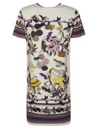 Tory Burch Mushroom Party T-shirt Dress - Multicolor