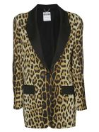 Moschino Leopard Print Coat - PRINTED