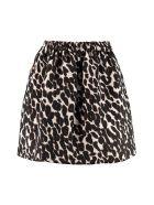 La DoubleJ Jacquard Mini Skirt - Beige