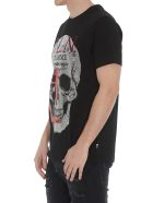 Philipp Plein Skull T-shirt - Black/red