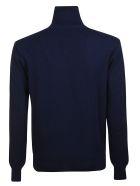 Ami Alexandre Mattiussi Logo Sweater - Blue