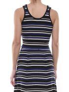 3.1 Phillip Lim Striped Rib-knit Crop Top - Multicolor