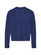 Marni Cable Knit Pullover - blue
