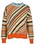 Marni Diagonal Stripes Sweater - Rainbow