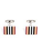 Burberry Heritage Stripe Cufflinks - A7045s Vintage Check Stripe