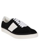 Tom Ford Black Leather Sneakers - Black