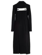 SSHEENA Coat Double Breasted Alpaca - Black