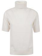 Ralph Lauren Black Label Short Sleeve Sweater - Lux Cream