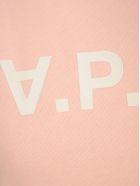 A.P.C. Logo Reverse Sweatshirt - PINK