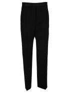 Bottega Veneta High-waisted Tailored Trousers - BLACK