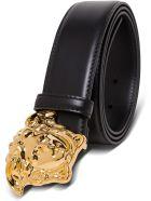 Versace Medusa Belt - Black