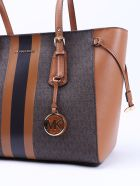 Michael Kors Collection Md Mf Tz Tote Voyager - Brown Acorn