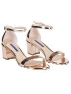 Stuart Weitzman Buckled Sandals - Brown