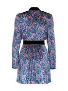Philosophy di Lorenzo Serafini Floral Dress In Viscose Blend - Multicolor