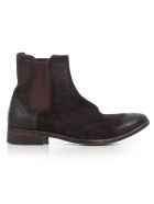 The Last Conspiracy Boots Waxed Suede - Mokka