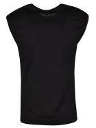 Versace Logo Sleeveless Tank Top - Black