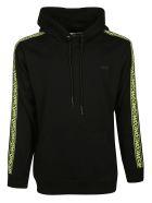 McQ Alexander McQueen Side Logo Hoodie - black