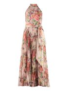 Zimmermann Sunray Dress With Floral Print - Pink