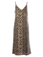 In The Mood For Love Rihanna Dress - Brown