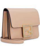 Fendi Fendi Fab Leather Mini Crossbody Bag - Pale pink