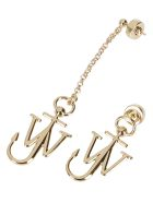 J.W. Anderson Gold-tone Brass Anchor Earrings - Gold