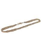 Saint Laurent Loulou Close Fitting Necklace - Light dore