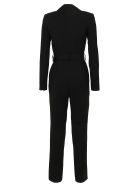 self-portrait Tailored Crepe Jumpsuit - Black