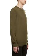 Stone Island Shadow Project Logo Sleeve Sweater - Verde militare