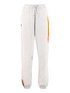 H2OFagerholt Mixedrace Drawstring Waist Track Pants - grey