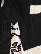 Antonio Marras Silk Inserts Sweater V Neck W/flowers Paillettes - Unica