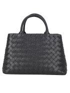 Bottega Veneta Handbag - Nero/silver