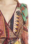 Etro 'patch Pochette' Dress - Multicolor