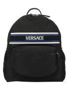 Versace Backpack - Nero/palladio
