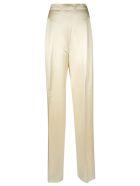Max Mara Pianoforte Straight Trousers - White